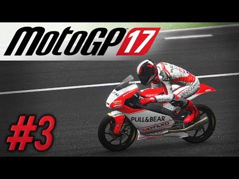 MotoGP 17 | RIDER CAREER #3 | MOTO 3 DEBUT POLE AND WIN?! | QATAR & ARGENTINA (Pro)