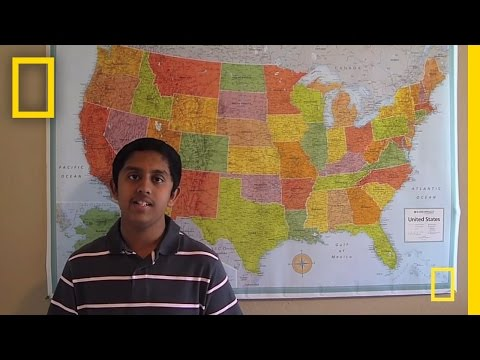 OK Finalist  National Geographic Bee 2011