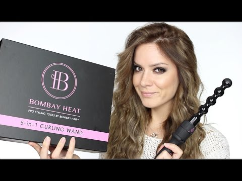 How I Curl My Hair | Bombay Hair 5-in-1 Curling Wand | Discount Code!! | Shonagh Scott