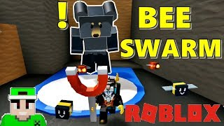 Roblox in Spanish 94 Bee Swarm 2 Bear missions give us honey to level up faster