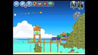 Angry Birds Facebook Surf And Turf Level 6 Walkthrough 3 Star