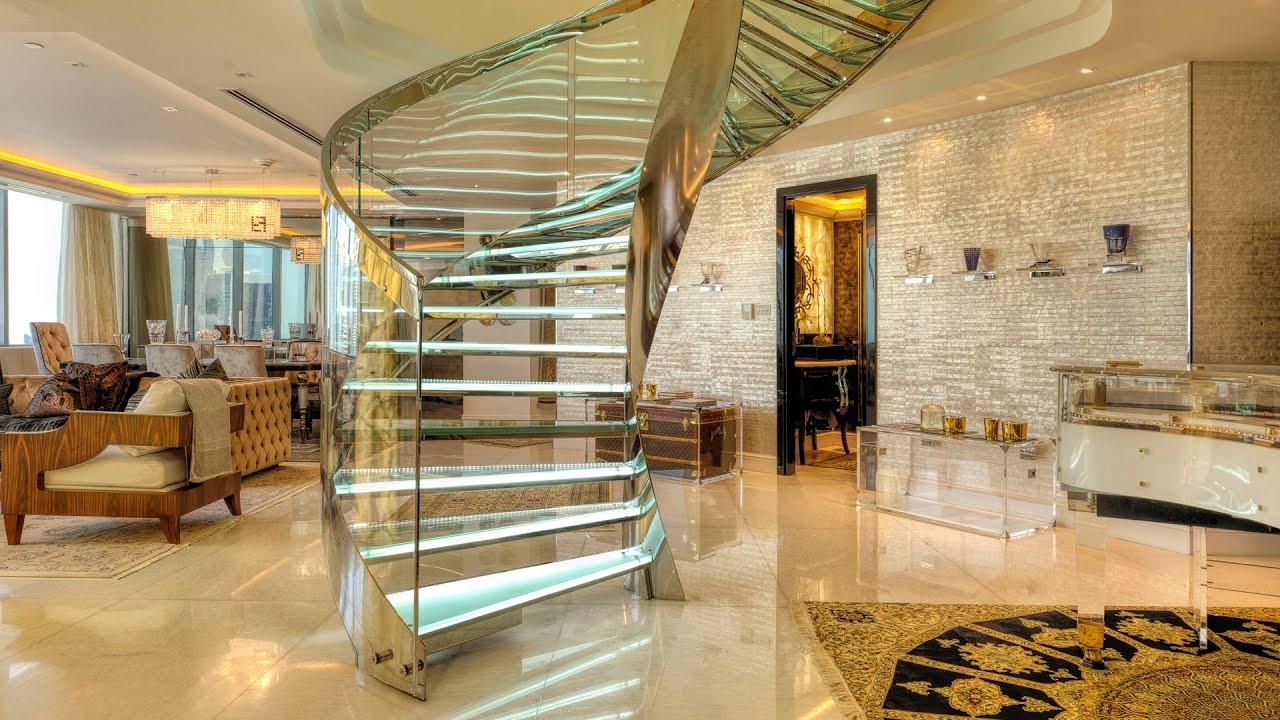 Emirates Wallpaper Hd Dubai Luxury Property Highlight The Glass Penthouse Youtube