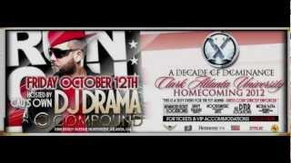 DJ DRAMA, DJ SENSE, JAHLION SOUND MOVEMENTS, MZ SHYNEKA live COMPOUND HOT 107 9 ATL