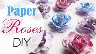 Roselline Professionali carta Facili! - DIY Paper roses