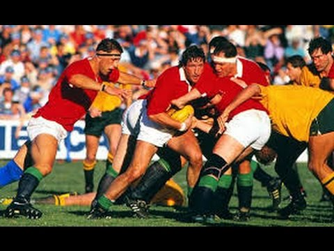 Lions Tour of Australia 1989 - 1st Half of Second Test
