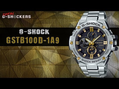 Casio G-SHOCK G-STEEL GSTB100D-1A9 | G Shock GSTB100 Stainless Steel Top 10 Things Watch Review