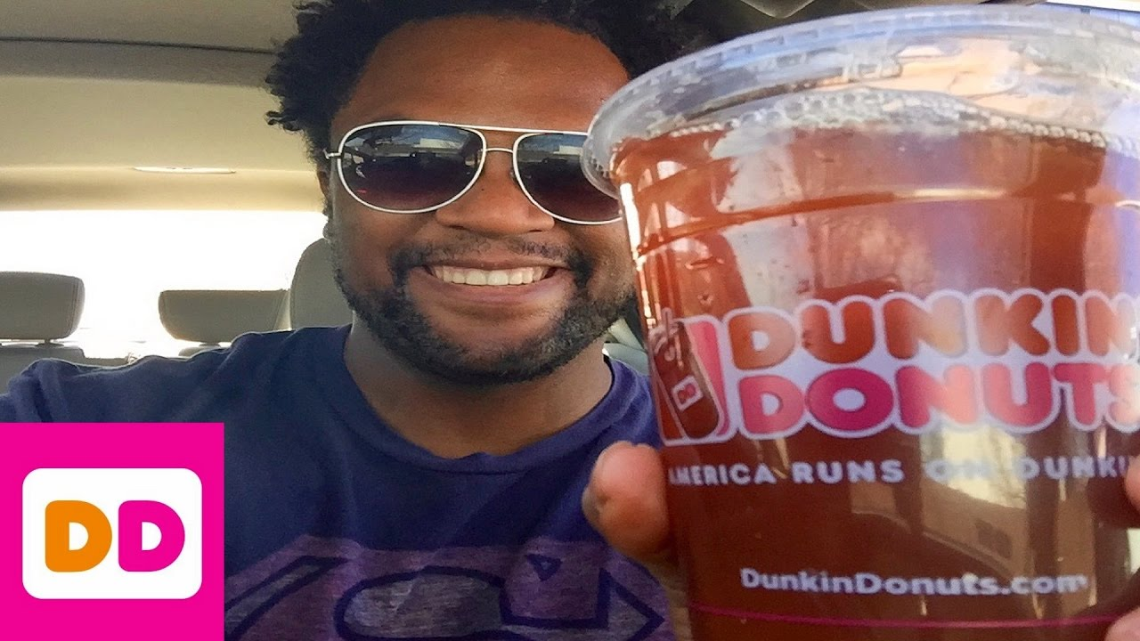 Dunkin Donuts Mango Pineapple Iced Tea Review Youtube