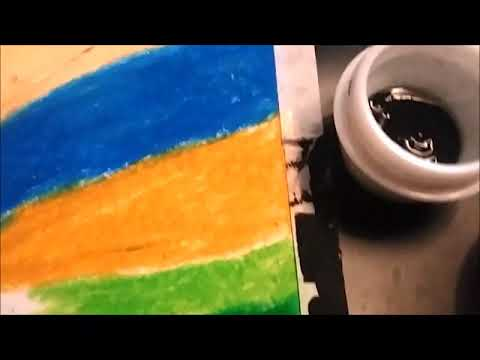 Colourful Scratch Art - DIY