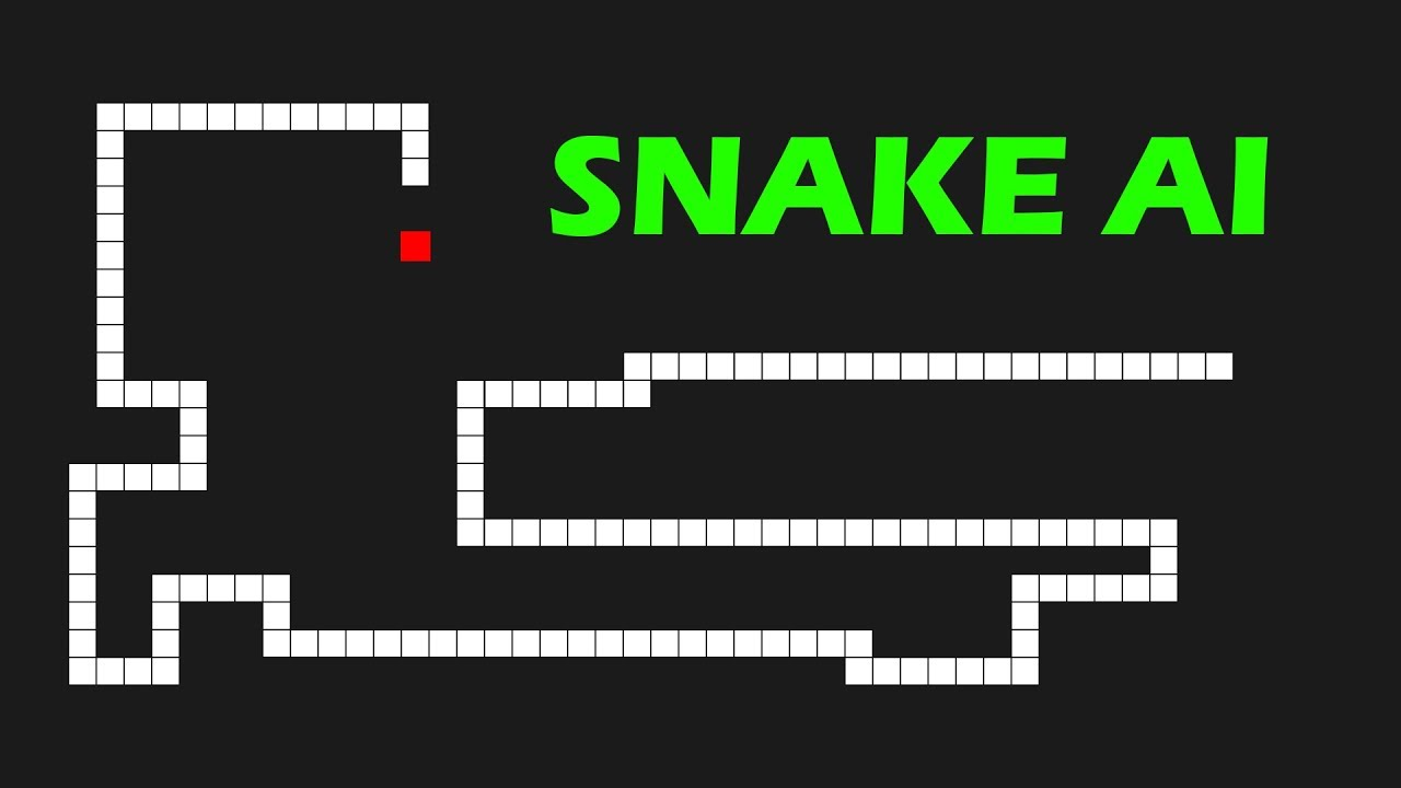 A.I. Learns to play Snake using Deep Q Learning