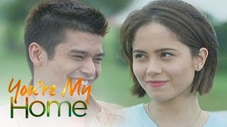 You're My Home: Grace feels comfortable with Christian