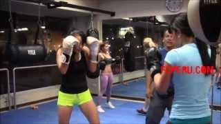 Clases de Boxeo para principiantes – Escuela de Boxeo: Jab, recto con defensa de bloqueo