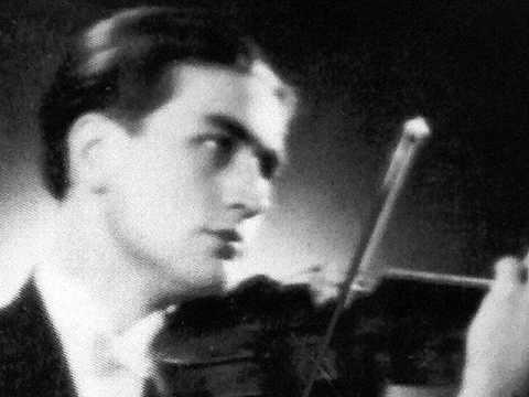 Gerhard Taschner plays Sarasate: Gipsy Airs (Zigeunerweisen)(1944)