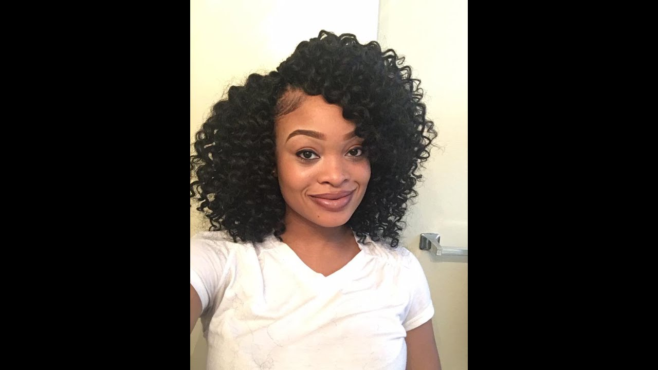 Crochet Hair Pre Curled : Precurled Crochet Braids Freetress Ringlet Wand Curl - YouTube