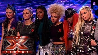 Alien Uncovered become second act to leave | Week 1 Results | The X Factor 2015