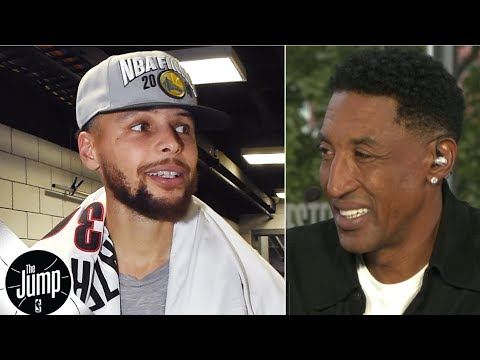 'How do you defend that?'- Scottie Pippen is amazed by Steph Curry during Blazers sweep | The Jump