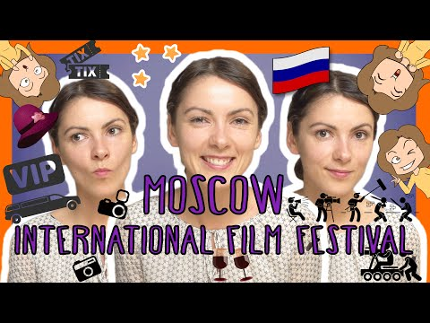 Russian MOSCOW INTERNATIONAL FILM FESTIVAL words with Katya