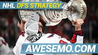 DraftKings & FanDuel NHL DFS Strategy | Hit The Ice | Tuesday 12/11 | Awesemo.com