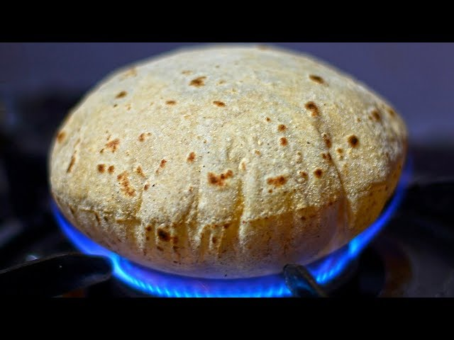 Street Food | How to Make Soft Pulka | Phulka Recipe | VijayaWada Street Food