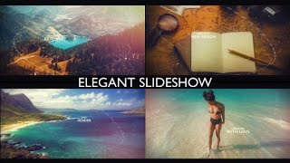 Cinematic Slideshow | After Effects template | Envato videohive slideshow