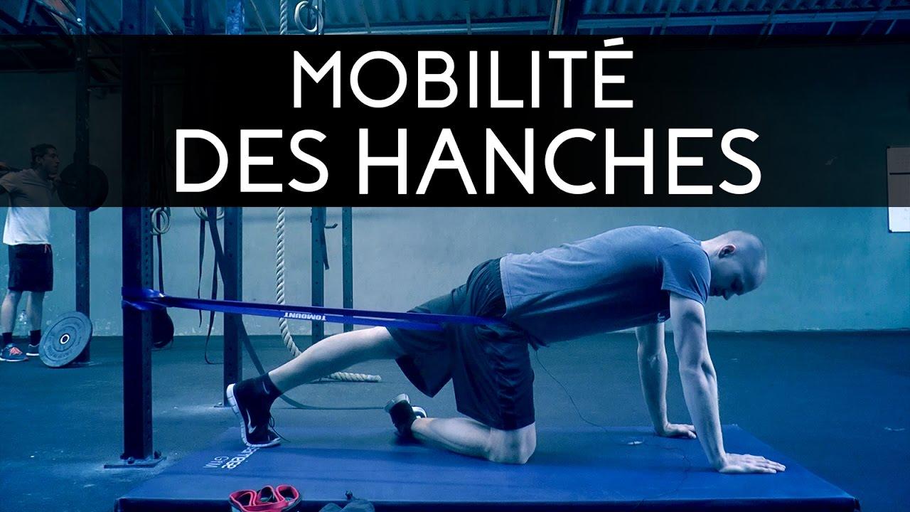 mobilit des hanches en crossfit d compression articulaire avec bande youtube. Black Bedroom Furniture Sets. Home Design Ideas