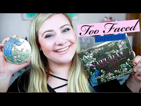 TOO FACED NATURAL LUST COLLECTION REVIEW + TRY ON
