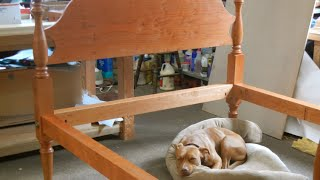 Acorn Bed Building Process By Doucette And Wolfe Furniture Makers