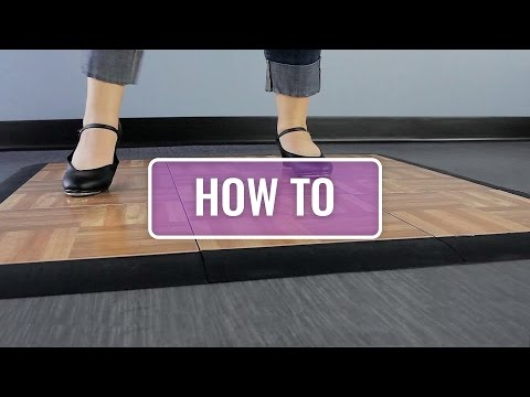 How to Install Modular Dance Tiles