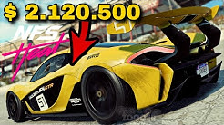 KURVEN MONSTER McLaren P1 GTR - NEED FOR SPEED HEAT