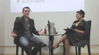 Shane Bradley (GrabOne) at Startup Grind Auckland