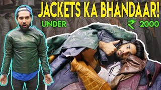 GENUINE LEATHER JACKETS AAPKE BUDGET MEIN!| Best PLACE for WINTER SHOPPING