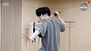 [BANGTAN BOMB] SUGA's Daechwita Sword Dance Practice - BTS (방탄소년단)