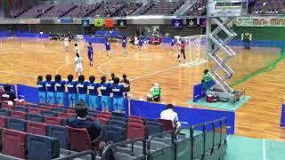2018年11月13日 インカレ 東京女子体育大学 対 筑波大学 前半
