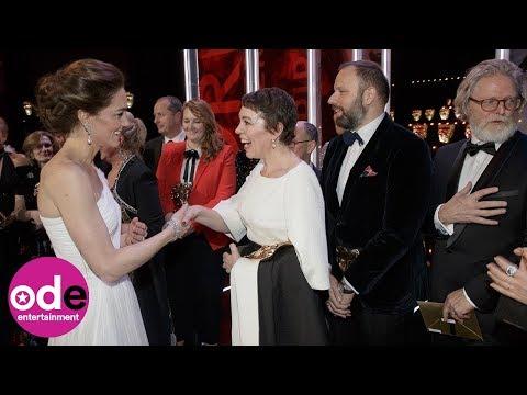 Duke and Duchess of Cambridge meet BAFTA winners