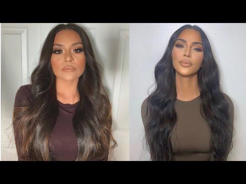 Kim Kardashian Makeup Tutorial | Sarahy Delarosa