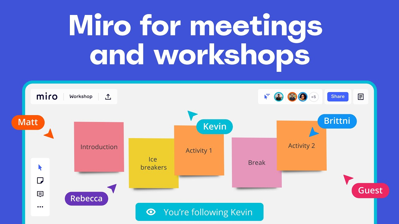 Introducing Miro for meetings and workshops