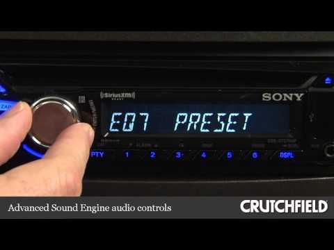sony xplod bluetooth car stereo manual