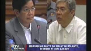 Idinawit, Arthur Yap at Bolante,Paghaharapin sa Senado!!!