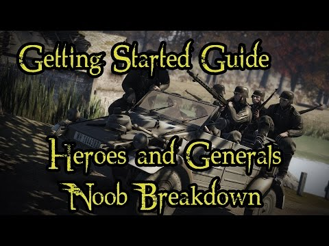 heroes and generals how to make a squad