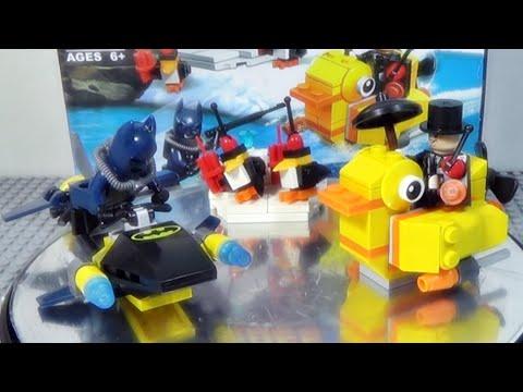 bela 수퍼히어로 배트맨 펭귄맨 결투 레고 짝퉁 Lego knockoff 76010 장난감 조립기