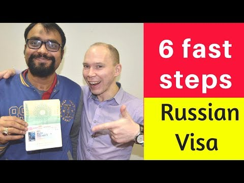 How to apply Russian student visa online from your country