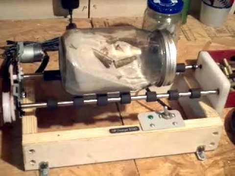 Homemade Diy Ammo Brass Tumbler Cleaner Youtube