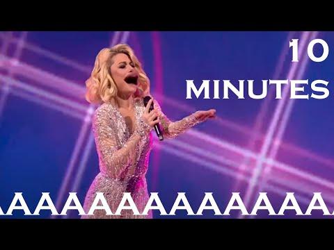 Natalia Gordienko screams for 10 minutes straight | Eurovision 2021