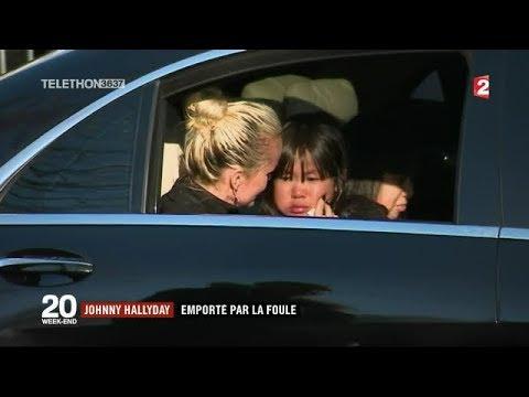 Hommage JOHNNY HALLYDAY : des milliers de fans sur les Champs-Elysées / JT du samedi 9 décembre 2017