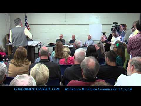 Wolfeboro Police Commission Full Meeting 5:15:14