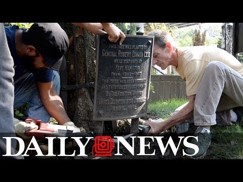 Gen. Robert E. Lee plaque removed from Brooklyn church