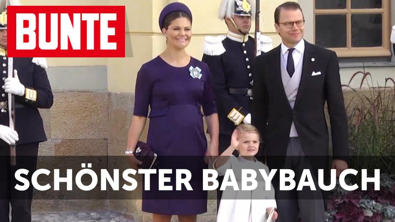Victoria von Schweden - Der schönste Babybauch im Königreich!  - BUNTE TV