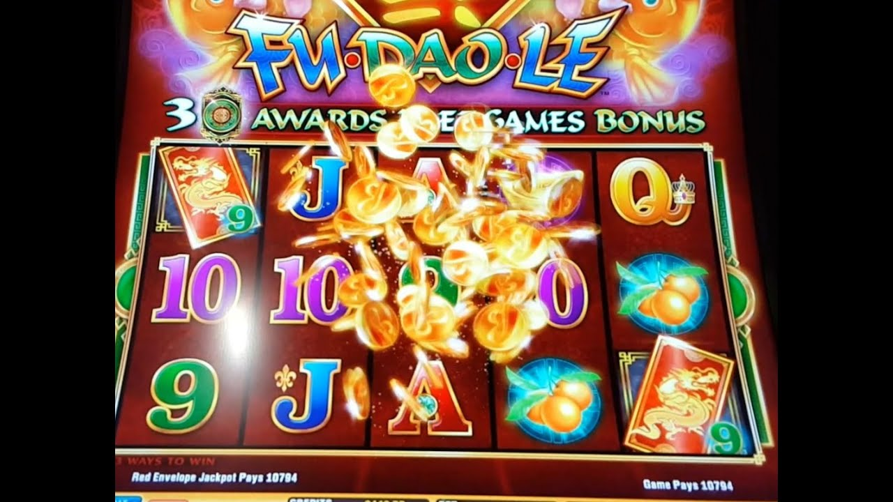 fu dao le winning machines at pechanga