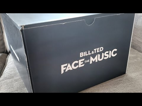 Bill & Ted Face The Music #exellenttogether LIVE unboxing!