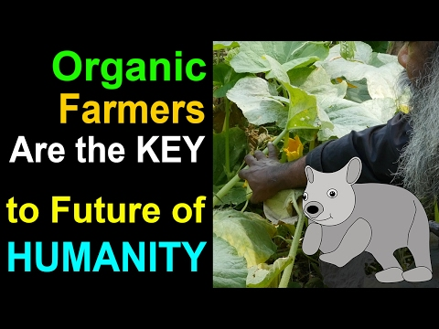 Organic Farmers are the Key to Future of Humanity