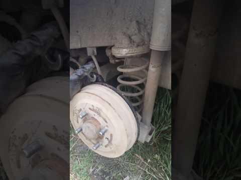 Снять тормозной барабан за 15 минут Авео. Подходит почти для любого авто. remove the brake drum